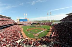 Opening Day in Cincinnati