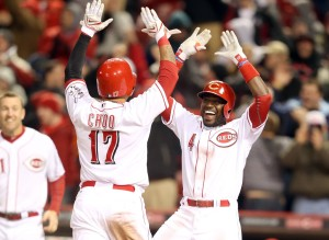 Choo and Phillips have carried the Reds in April