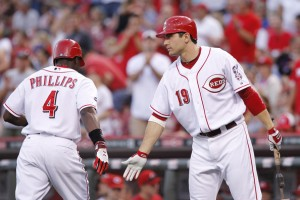 Phillips and Votto continue to lead Reds