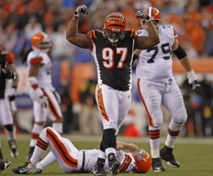 Geno Atkins is the best interior lineman in the NFL