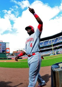 Brandon Phillips is the first-half MVP for the Reds