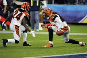 Reggie Nelson and Adam Jones
