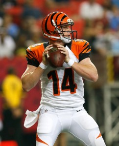 Andy Dalton needs to stay within himself this Sunday